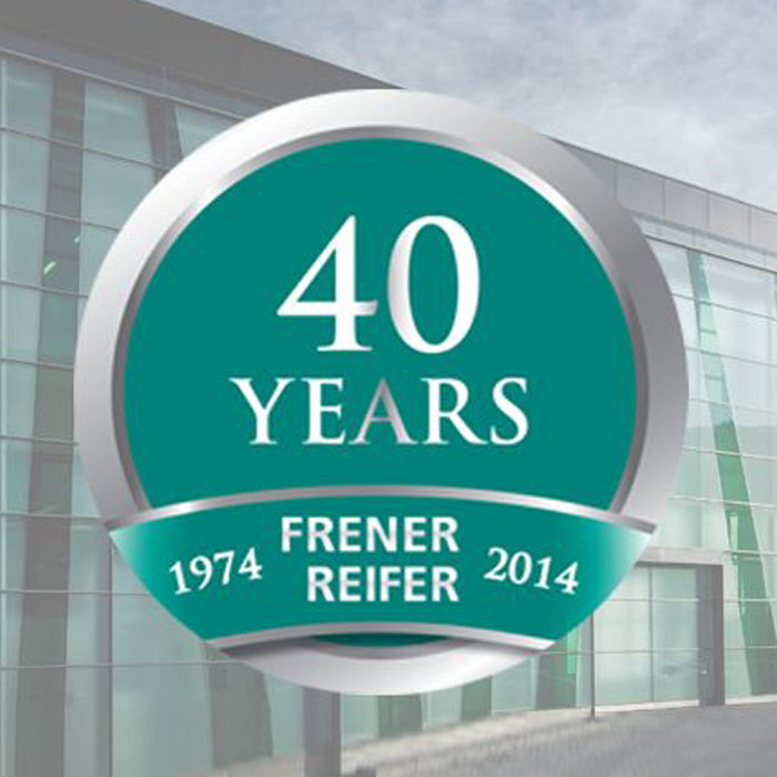 40 Years Frener & Reifer
