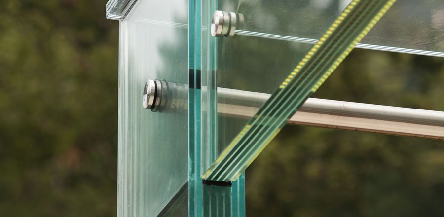 Load-bearing all-glass construction  – All-glass constructions