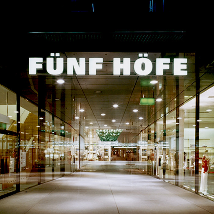 """Fünf Höfe"", City Quartier"
