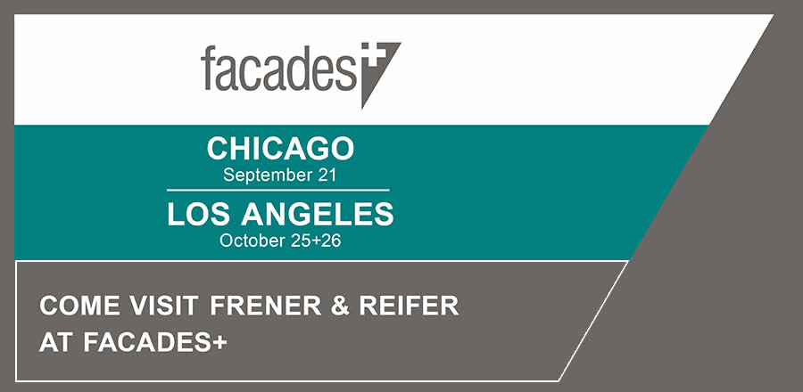 Facades+ with FRENER & REIFER