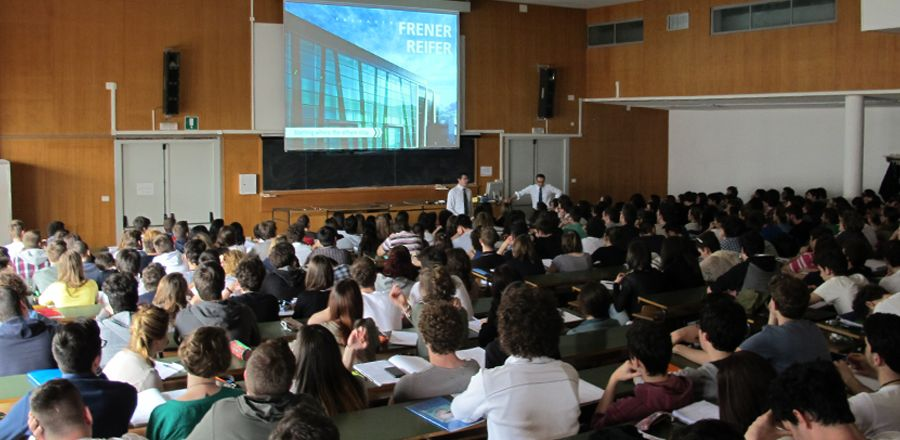 Guest Lectures, University of Trieste, Case Study FRENER & REIFER