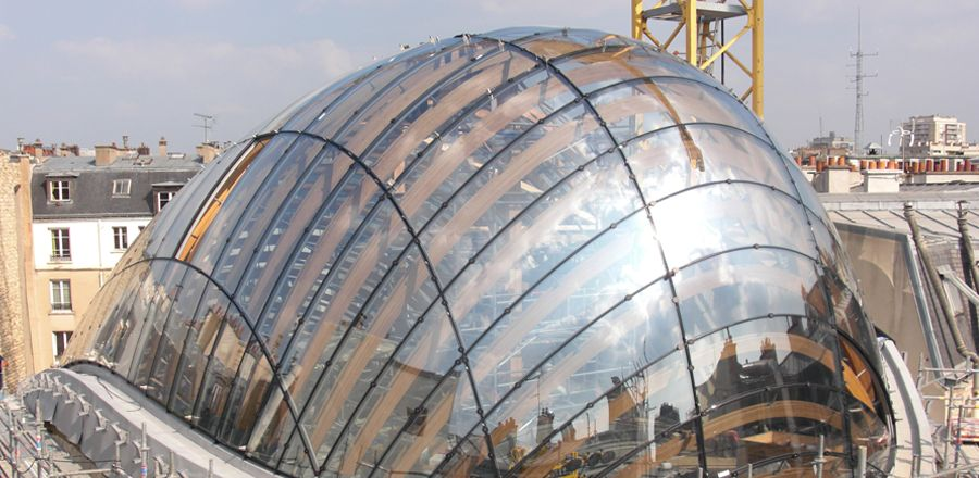 Double Curved Glass