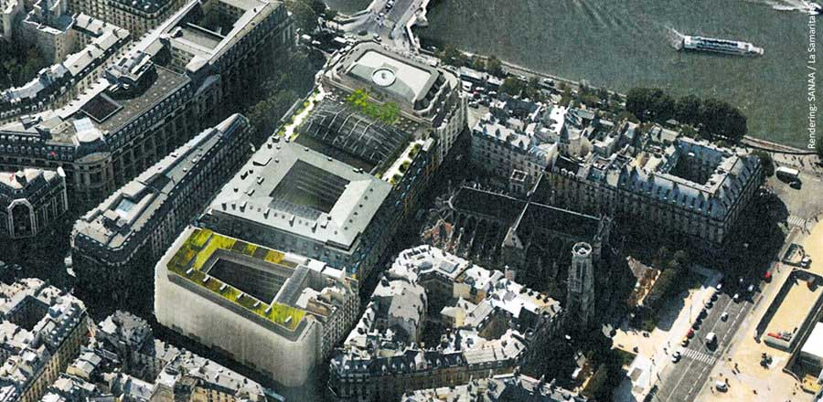 Remodelling of the historic Parisian department store - Samaritaine Paris - FRENER & REIFER