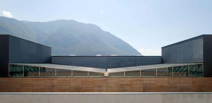Educational Building, Italy, Bolzano, Höller and Klotzner, Steel load-bearing structure