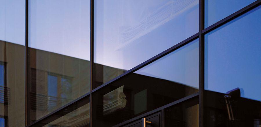 Glass Mullion System : Transom mullion system minimo fr