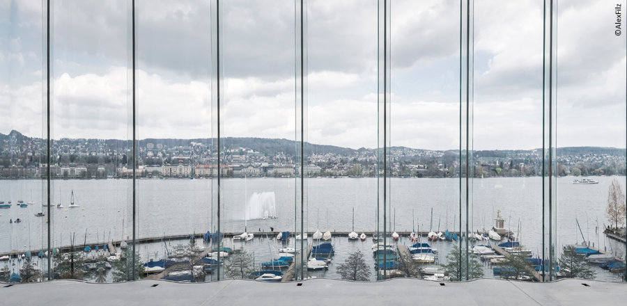 Swiss Re Next – Ondulierte Glasfassade am Zürichsee