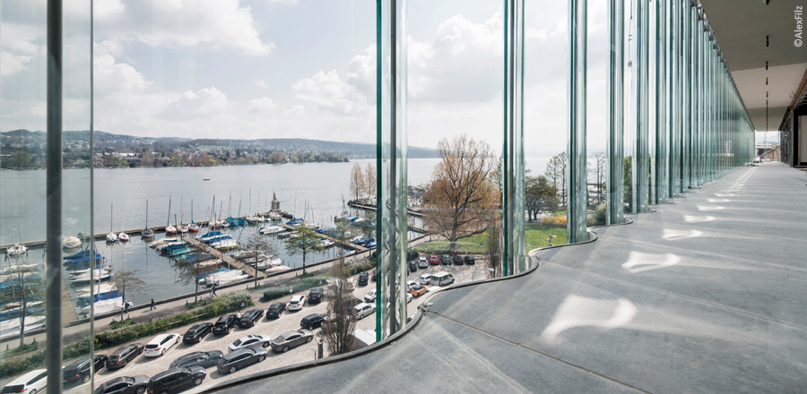FRENER & REIFER Swiss Re Next glass facade