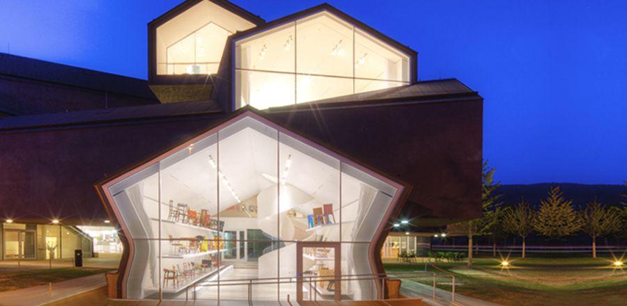 Vitrahaus showroom for Vitra museum basel