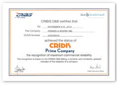 Dun & Bradstreet Certification