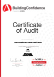Achilles Certificate of Accreditation