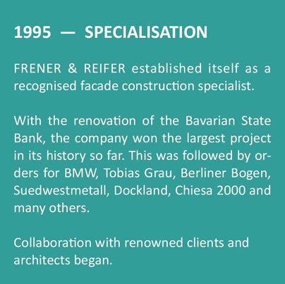 Frener & Reifer History